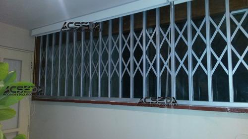 rejas modelo plegable para puertas, ventanas y mamparas