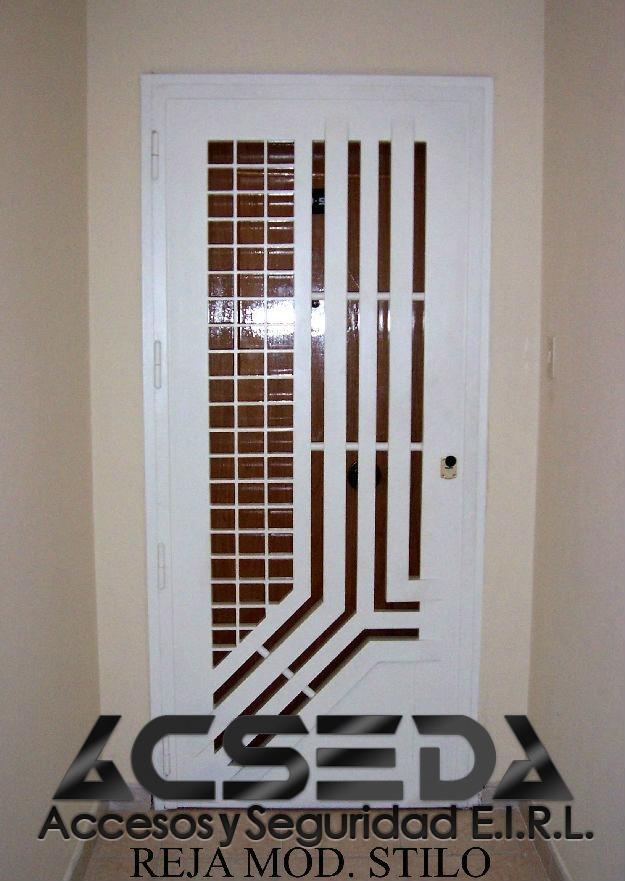 Rejas modelo plegable para puertas ventanas y mamparas - Modelos de mamparas de ducha ...