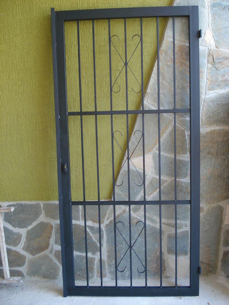 Rejas para puerta principal bs en mercado - Puertas de reja ...