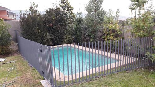 rejas piscinas desmontables....cancela cuando recepcione