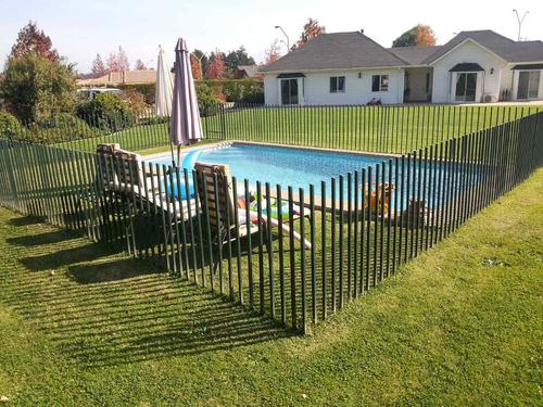 rejas piscinas todo stgo  y v region....paga al final