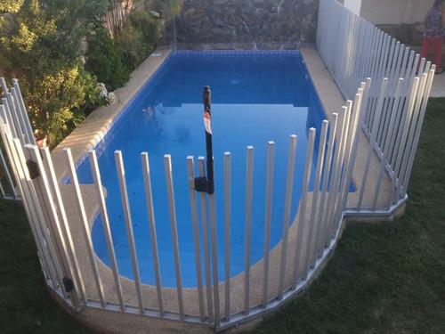 rejas piscinas , tubos y perfiles, cancela cuando recepcione