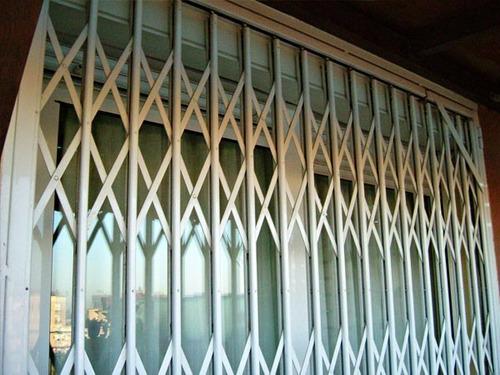 rejas plegadizas de aluminio  rejas fijas o corredizas