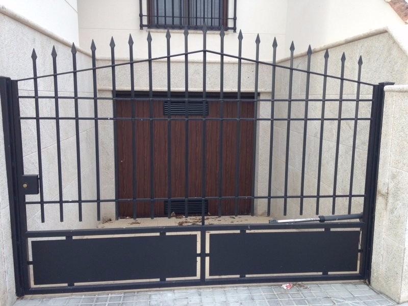 Rejas portones puertas metalicas lima s 1 00 en - Fotos puertas metalicas ...
