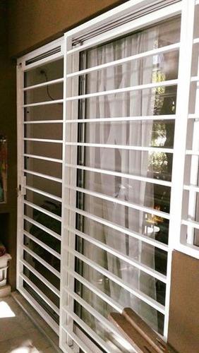 rejas puerta balcon