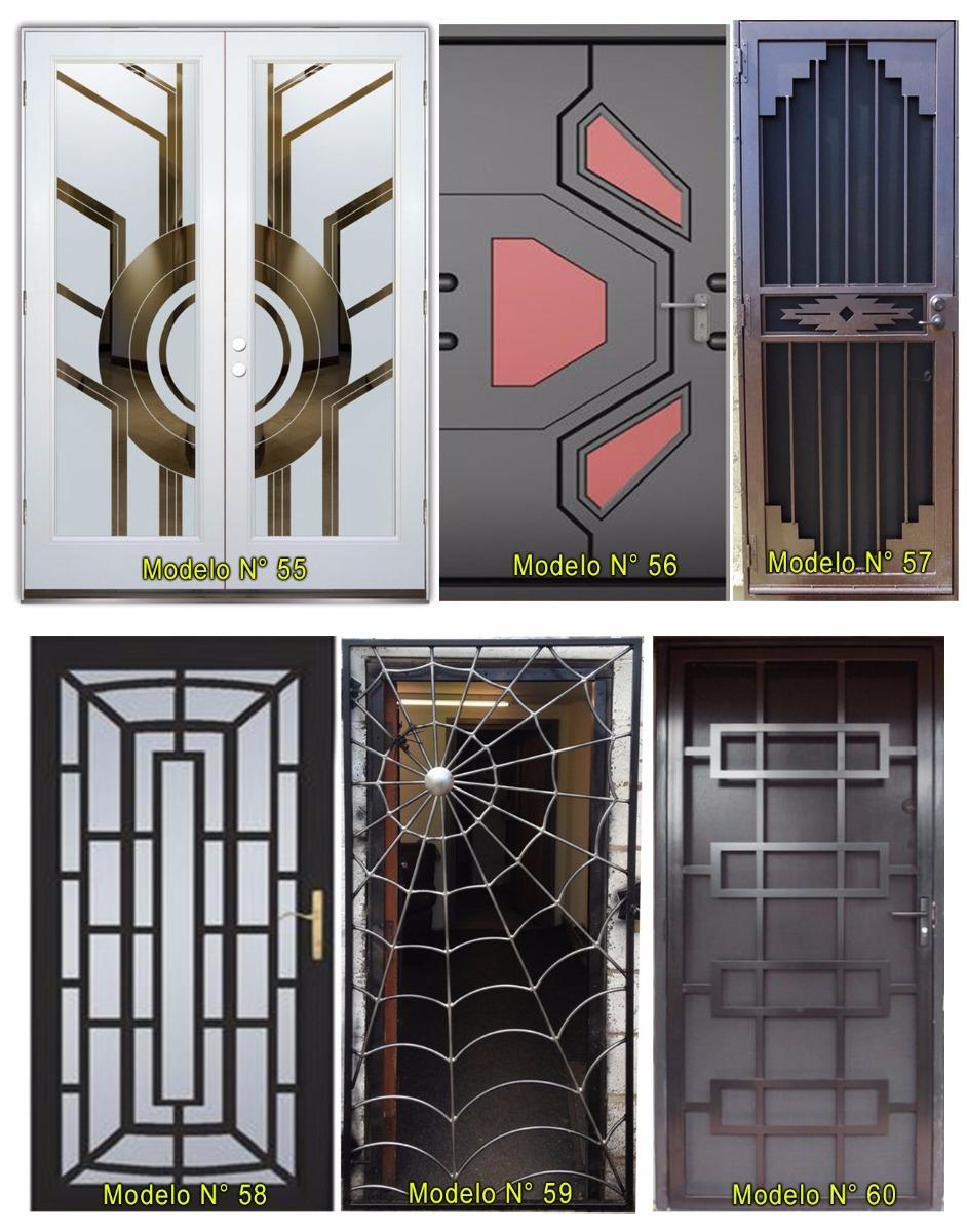 Rejas y puertas de seguridad para casas y apartamentos for Puertas para casa exterior