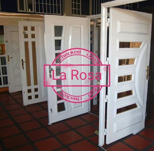 rejas y puertas multilook ,portones blindados la rosa