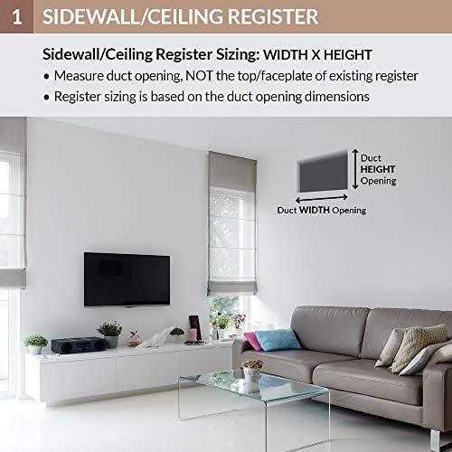rejilla accord para techo y pared lateral con diseño de 2 ví
