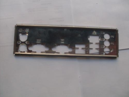 rejilla chapa lámina backpanel de panel trasero case cpu