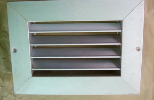 rejilla de aluminio de 6x4