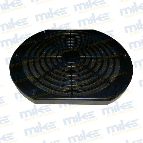 rejilla de plastico con filtro  para ventilador 175mm