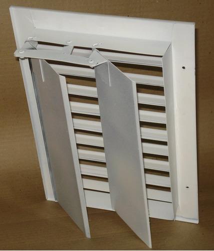 rejilla de ventilacion con regulacion 30x15 - palanca