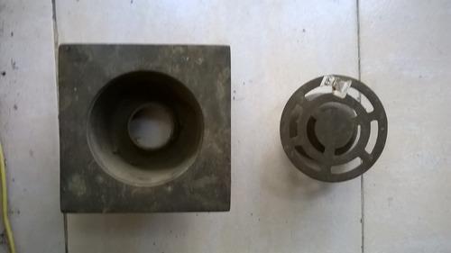 rejilla desague 4 .bronce,centropiso.inodoro,nueva