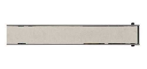 rejilla desague acero ducha lineal fluenza ceramic 70cm