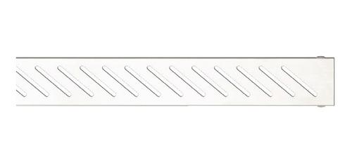 rejilla desague acero ducha lineal fluenza diagonal 70 cm