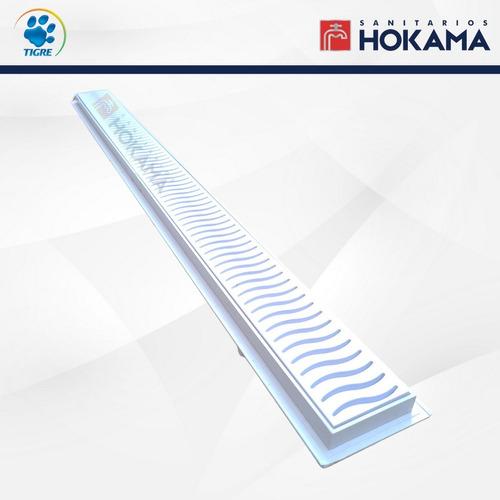 rejilla desague lineal ducha 50 cm blanca drenaje baño box