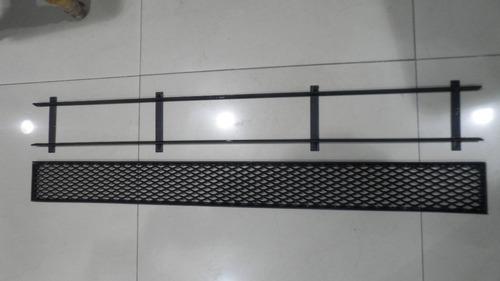 rejilla desague pluvial con marco 10 x 1mt
