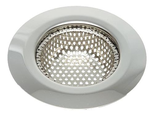 rejilla filtro universal acero para bacha pileta cocina