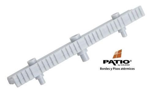 rejilla gris culzoni p/metro sistema de desborde finlandes