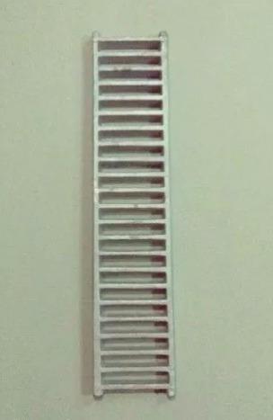 rejilla guardaganado 10x45 cm en aluminio s/marco