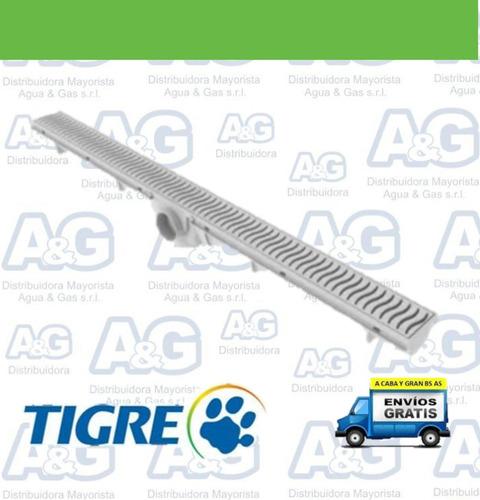 rejilla lineal 90 cm pvc tigre desagüe moderno