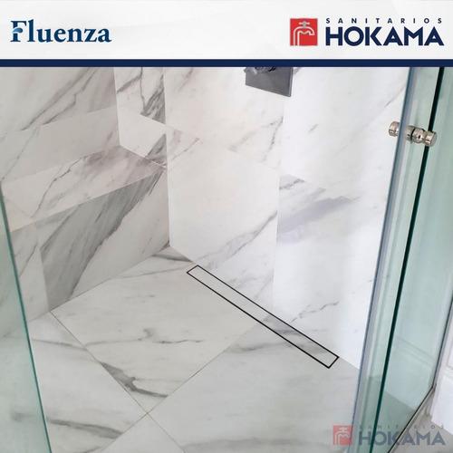 rejilla lineal ducha revestimiento porcelanato corta 30cm