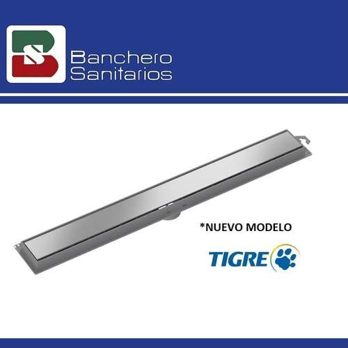 rejilla lineal tigre 70cm acero inoxidable