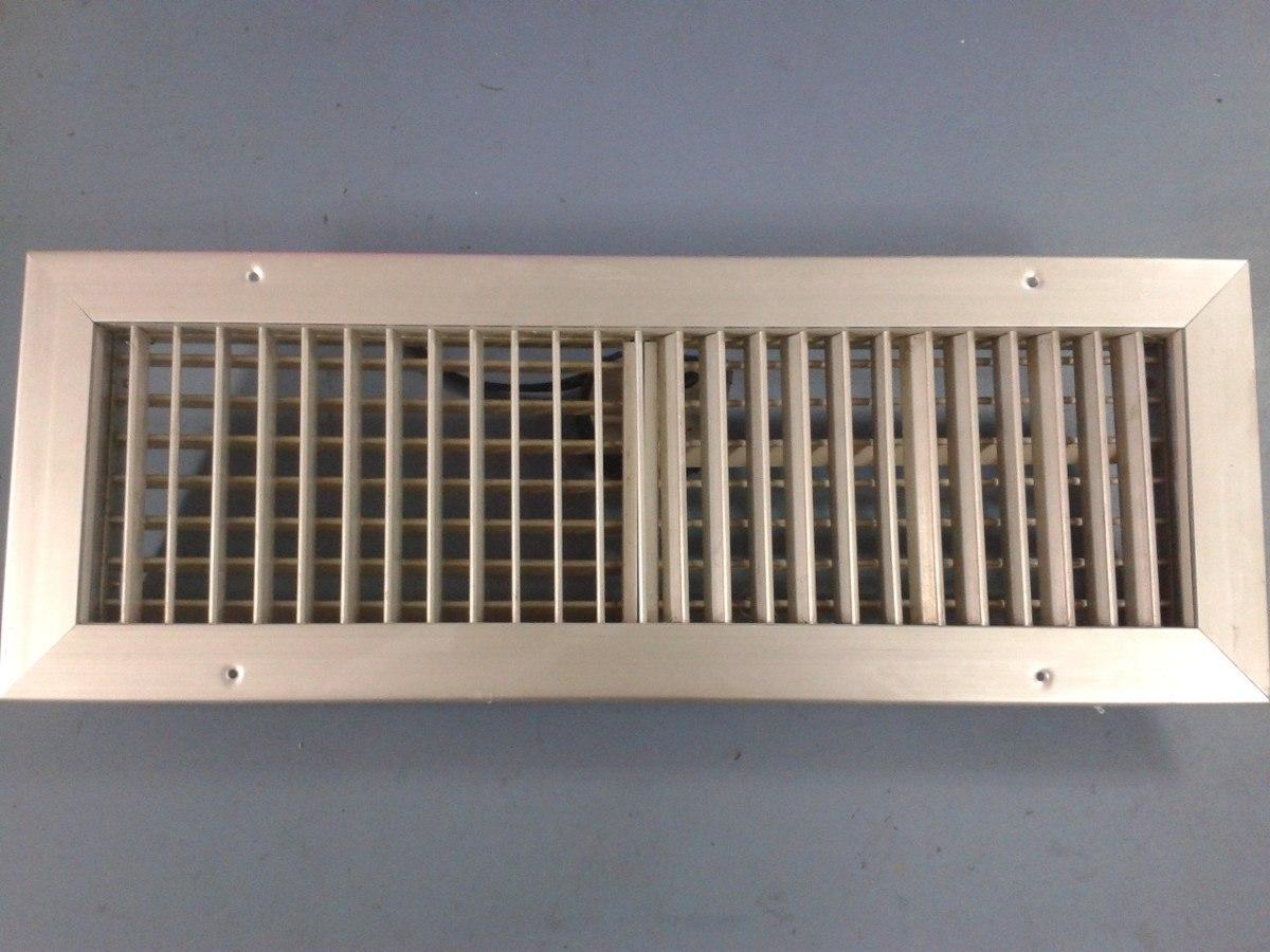 Rejilla para ductos de aire acondicionado bs for Rejillas aire acondicionado regulables