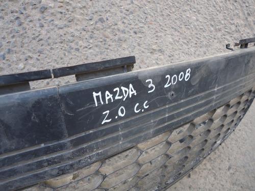 rejilla parach mazda 3 sedan 2008 2.0 - lea descripción