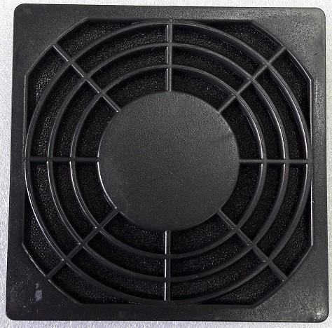rejilla plástica con filtro cooler fan ventilador 80x80mm