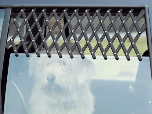 rejilla ventanilla coche protección mascotas mediana