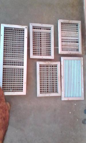 rejillas de ventilacion de aluminio,varias medidas