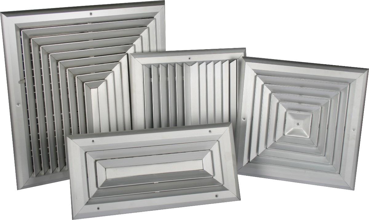 Rejillas para aires acondicionados bs en for Salida aire acondicionado