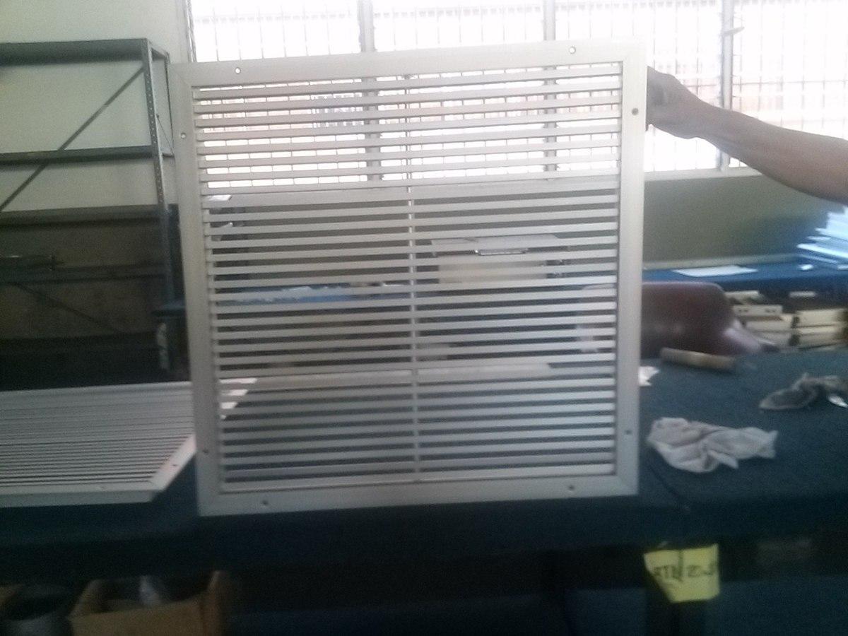 Rejillas y difusores para aire acondicionado ventilacion for Rejillas aire acondicionado regulables
