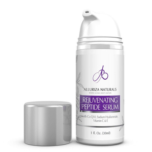 rejuvenating peptide serum by alluriza naturals vitamin c...