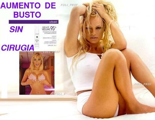 rejuvenece busto y gluteos crema breast volume 95 + idraet