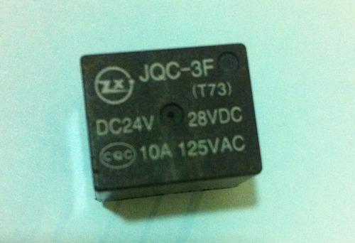 relê 24v 10a pn: jqc-3f (c/ 20 unidades)