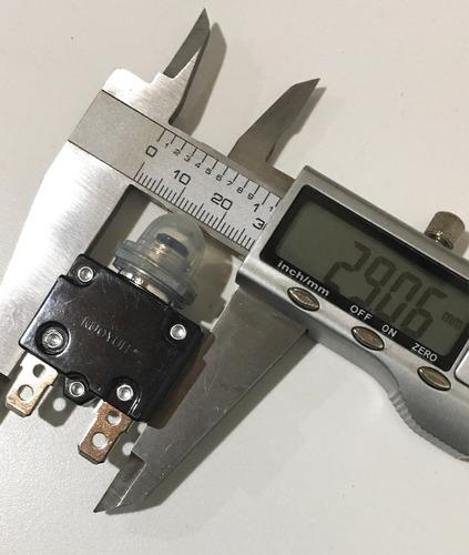 relê térmico 5 a 125/250v.