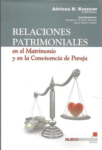 relaciones patrimoniales matrimonio y pareja - krasnow