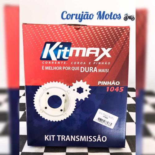 relação kit transmissão relação nxr 125 max