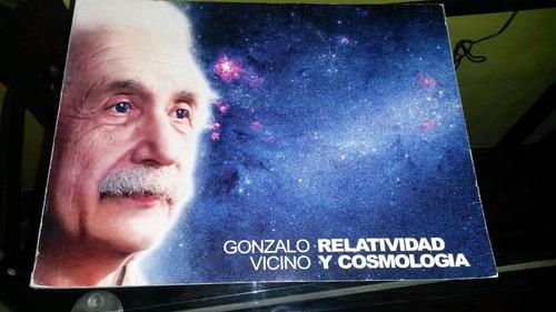 relatividad y cosmologia libro de gonzalo vicino