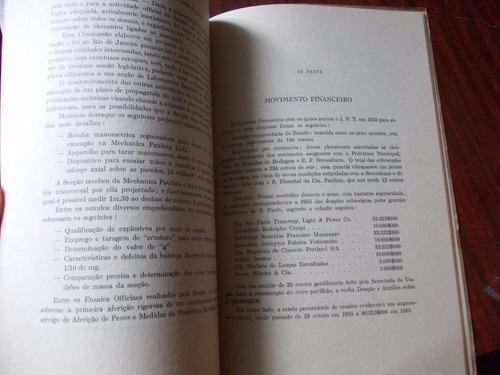 relatorio. instituto de pesquisas technologicas de são paulo