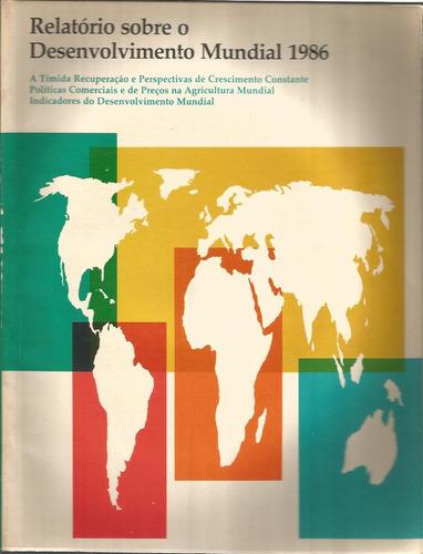 relatório sobre o desenvolvimento mundial 1986 banco mundial