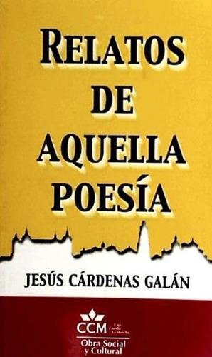 relatos de aquella poesía(libro poesía)