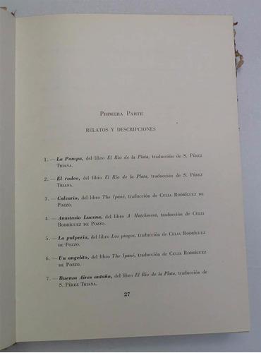 relatos del tiempo viejo- r. b. cunnighame graham- selección