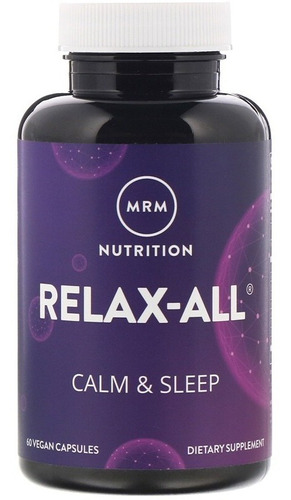 relax-all, anti stress e sono (valeriana, gaba...) - 60 caps
