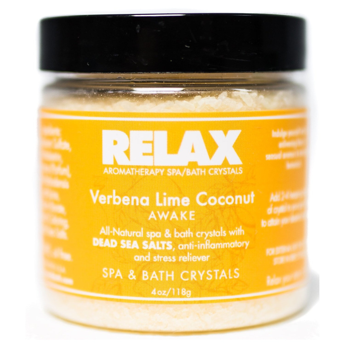 Relax Escape Best Aromatherapy Bath Salts, Sample Pack Of 4,