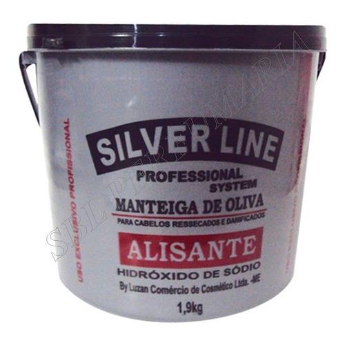 relaxante alisante profissional silver line 1,9 kg