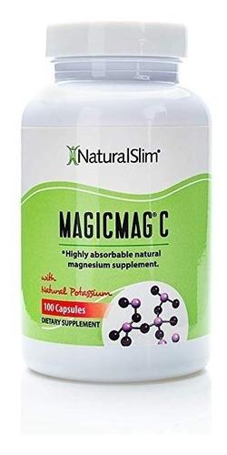 relaxslim magic mag c 100 caps - magnesio
