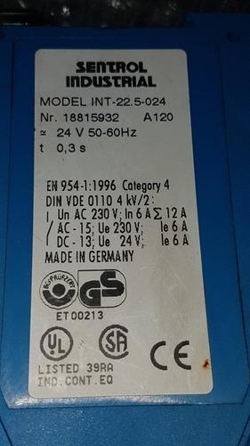 relay de seguridad int-22.5-024 power industrial